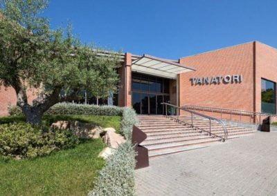 Tanatori de Sabadell - entrada
