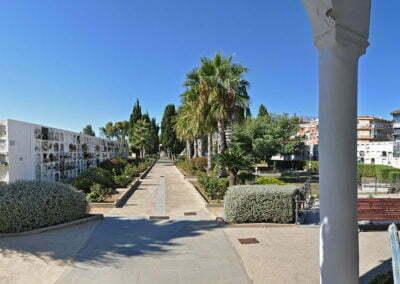Cementiri de Calella - Panorama des de la capella