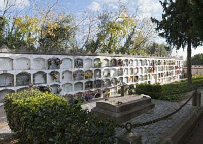 Part oest del cementiri