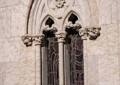 Finestres de la capella