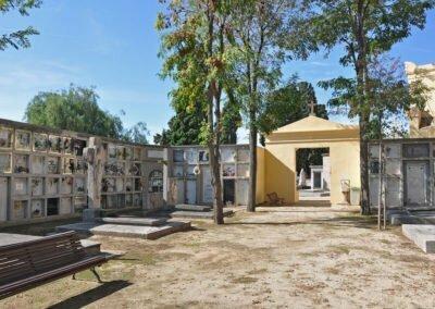 Part nova del cementiri
