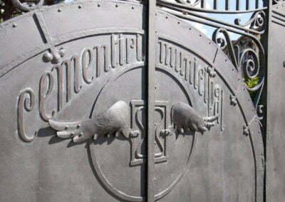 Detall de la porta d'entrada
