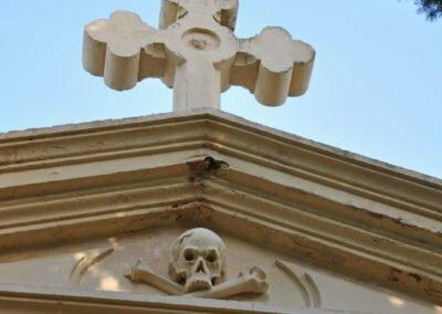 Detall a la creu
