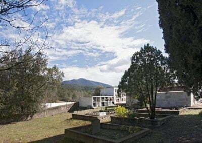 Panorama des de la Capella