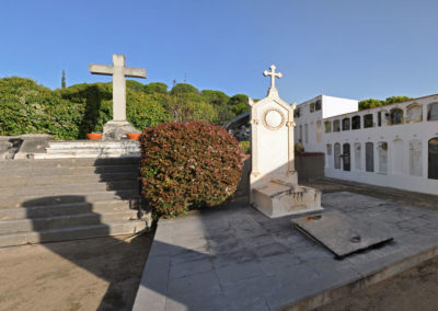 Panorama de les tombes