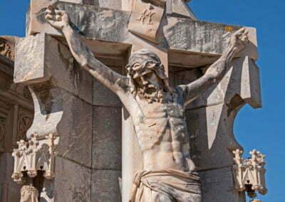Detall del panteó Domenec Sitjas