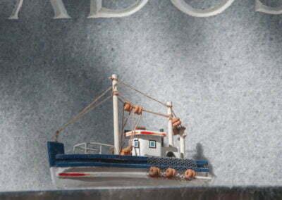 Detall d'una sepultura marinera