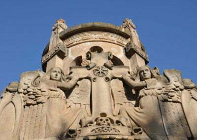 Detall de les escultures