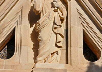 Escultura de la capella