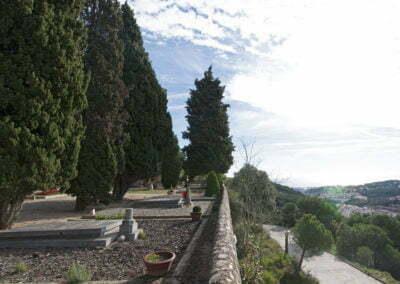 Vista exterior del cementiri