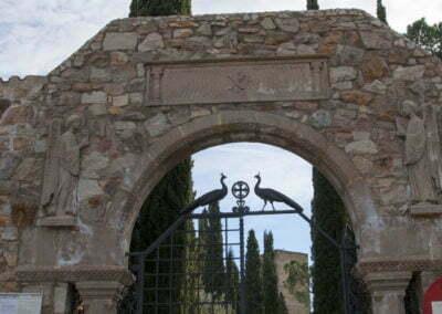 Entrada al cementiri