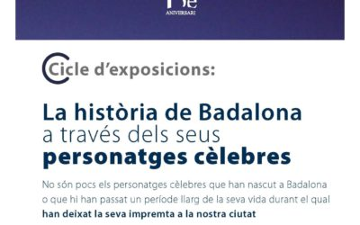 """Inauguració del cicle d'exposicions """"La història de Badalona a través dels seus personatges cèlebres"""""""