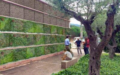 El cementerio de Roques Blanques pone en marcha los nichos verdes, nueva iniciativa para revitalizar las sepulturas verticales