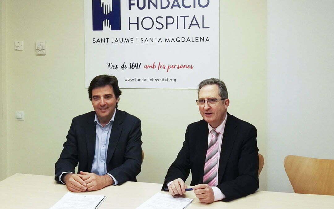 Cabré Junqueras i Fundació Hospital uneixen esforços en l'atenció als processos de dol a Mataró