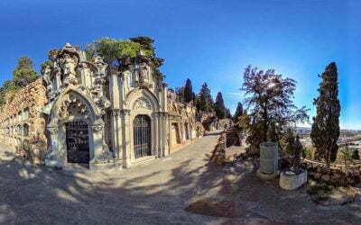Cementiris en 360° – Projecte de PANASEF per donar a conèixer el patrimoni dels cementiris