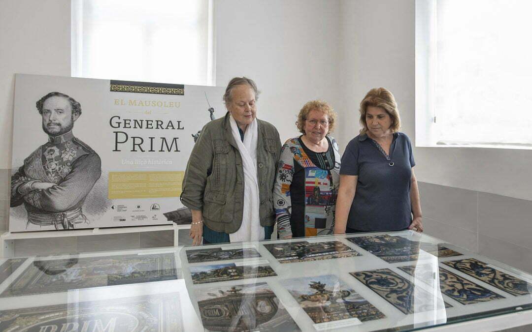 El Cementiri de Reus explica en una exposició els secrets amagats del mausoleu del General Prim