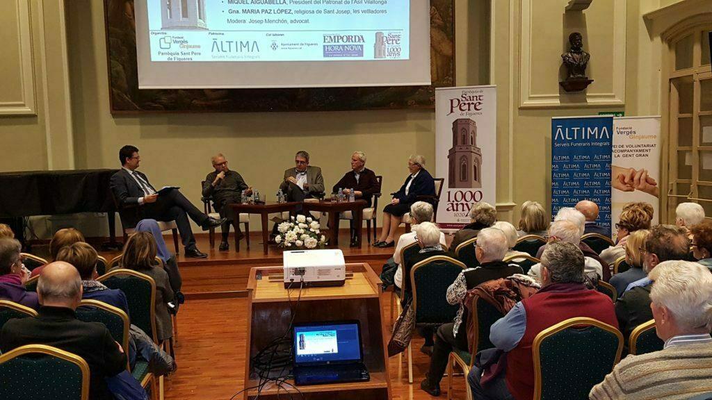 Àltima col·labora aquest mes de novembre en les diferents sessions organitzades sobre la presència Cristiana a Figueres