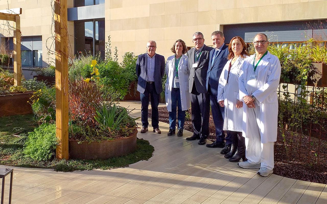 Àltima col·labora amb el Jardí Terapèutic del Centre Sociosanitari Bernat Jaume de Figueres