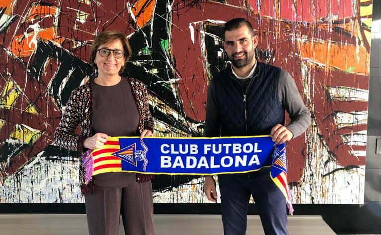 PFB signa un acord de col·laboració amb el Club de Futbol Badalona