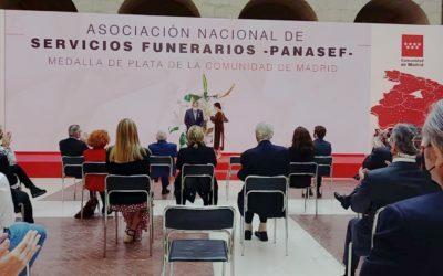La Comunitat de Madrid concedeix la Medalla de Plata a PANASEF